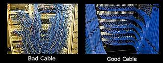 data cabling CAT6, CAT5e, Krone, Clipsal