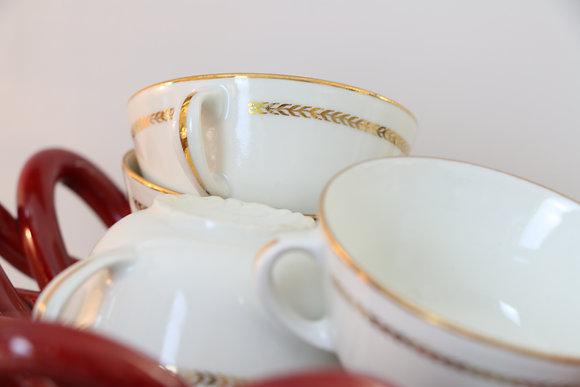 Anna Purna Mood - tasse porcelaine blanche