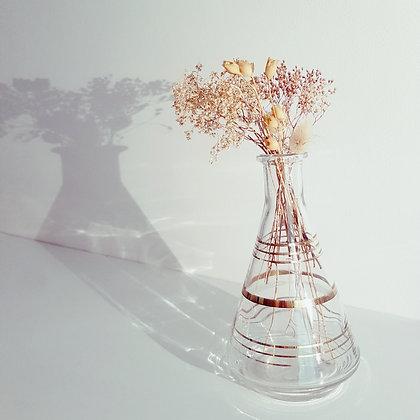 Anna Purna Mood - carafe rayée dorée