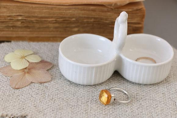 Anna Purna Mood - saliere porcelaine vintage