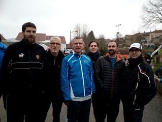 la course des loups en liberté à Montauville