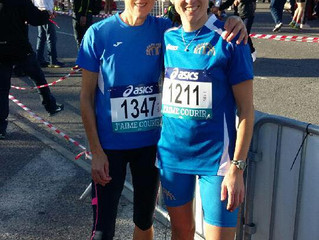 championnats de France des 10 kms à Aubagne.