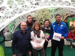 Les finishers du marathon de Paris