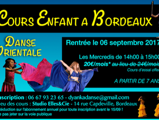 Un cours de danse pour enfant à Bordeaux
