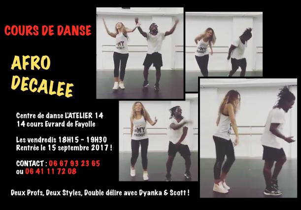 Cours de danse afro décalé