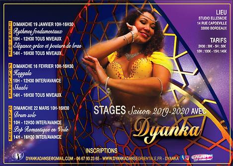 Stages de danse orientale 2020 Bordeaux danse du ventre danse arabe drum solo shaabi haggala