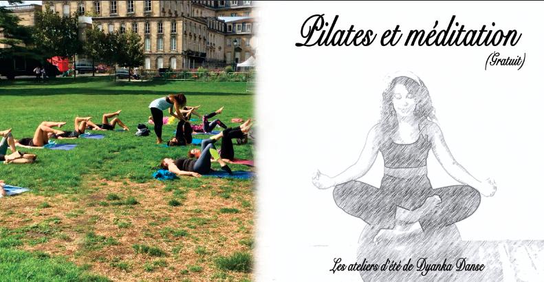 Pilates méditation bordeaux gratuit