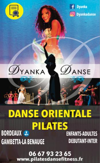 Cours de danse orientale et pilates à Bordeaux