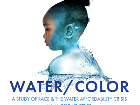WATER/COLOR A STUDY OF RACE & THE WATER AFFORDABILITY CRISIS   IN AMERICA'S CITIES
