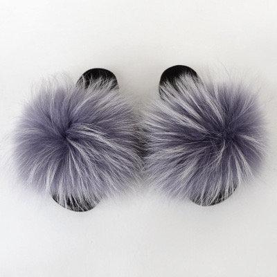 Grey Fox Slippers