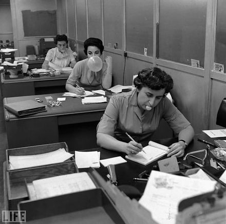 vintage admin, hamilton administration, retro offices