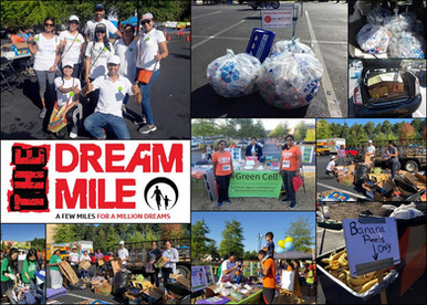 Helping Dream Mile event Go-Green