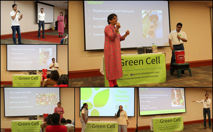 GreenHome Workshop at Public library 2019