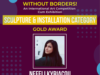 """Gold award in installation category for """"Pelican Blood"""""""