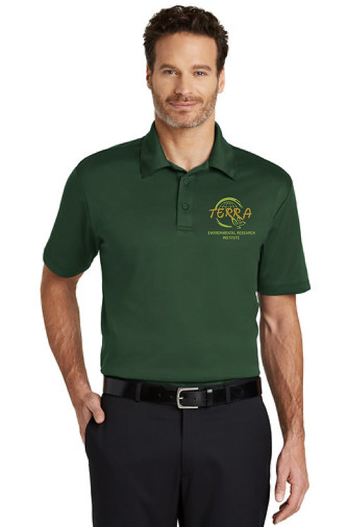 Mens Drifit Polo with Terra Logo