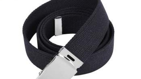 Black Matte Buckle Belt (only)