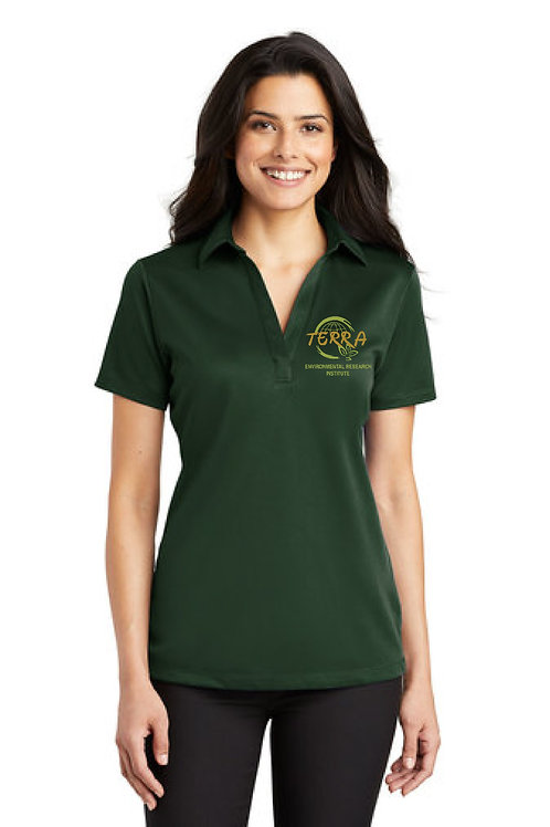Ladies Drifit Polo Shirt with Terra Logo