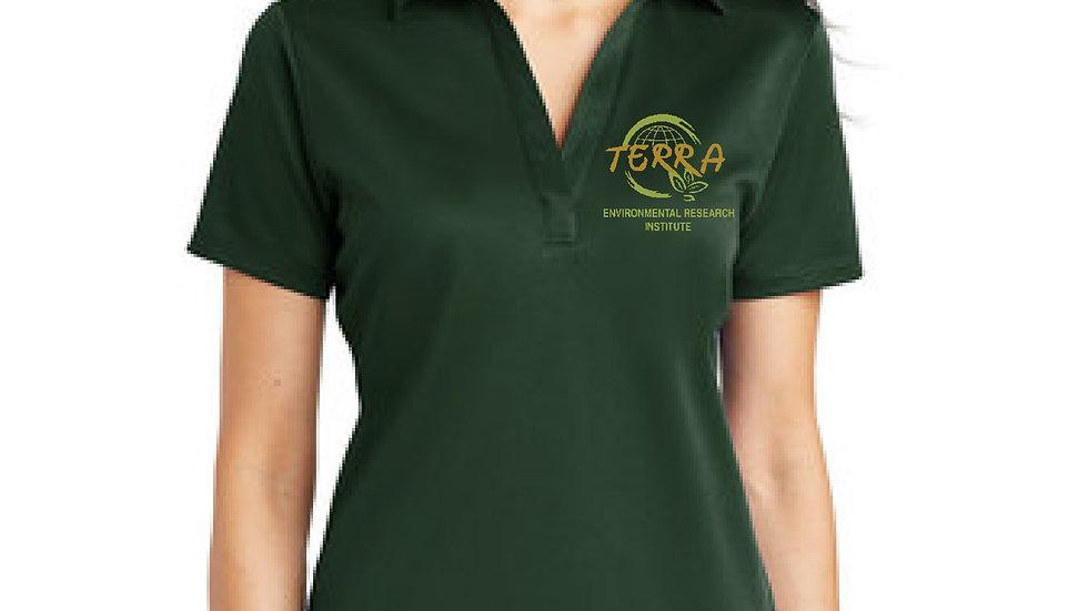 Ladies Drifit Polo Shirt with Terra Logo