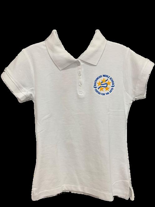 Girl's Polo Shirt with SW logo