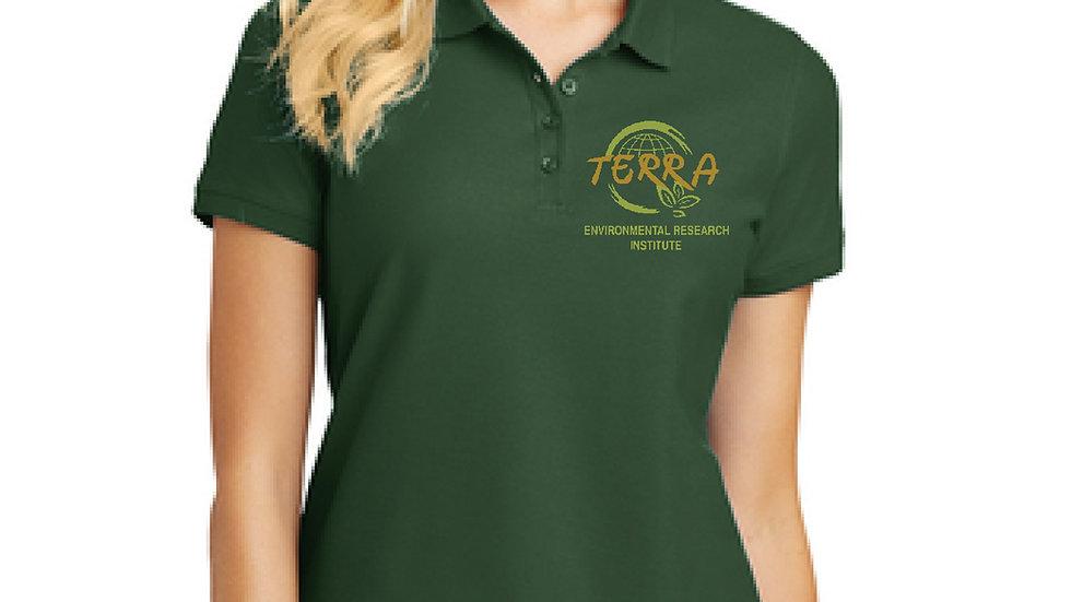 Ladies Polo with Terra Logo