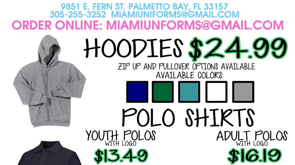 Palmetto Bay Academy Hoodies