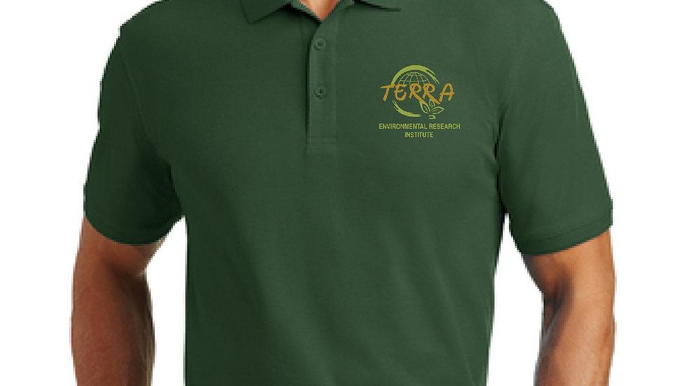 Mens Polo with Terra Logo