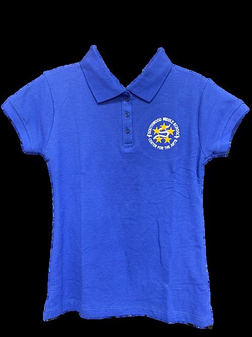 Junior's Polo Shirt with SW logo