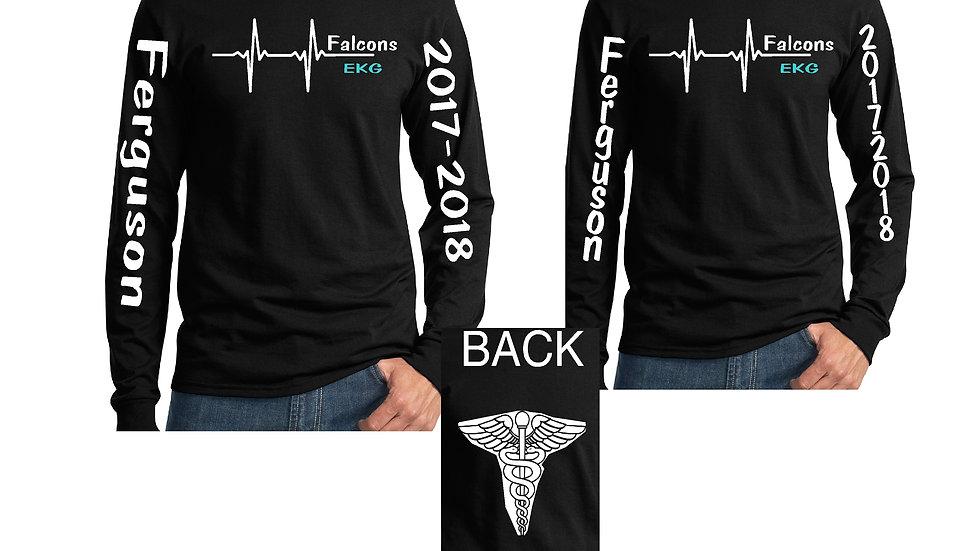 EKG Dry-Fit Long Sleeve Spirit Shirt