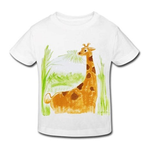 Boy T-shirt for kids pima cotton, hand painted | Universo Artesano | Peru