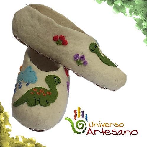Wool Slippers hand made | Universo Artesano |Peru