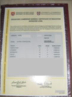 O Level English Super Tutor Credentials 2
