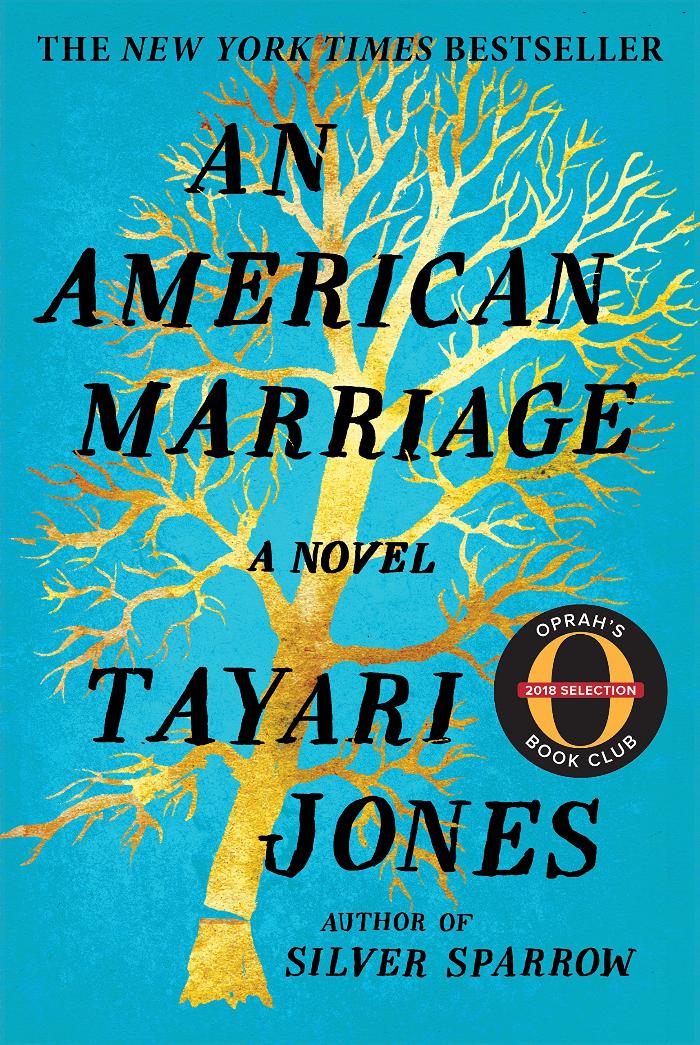 Book Cover An American Marriage by Tayari Jones