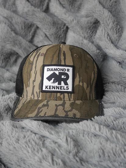 Retro Camo Hat with Logo