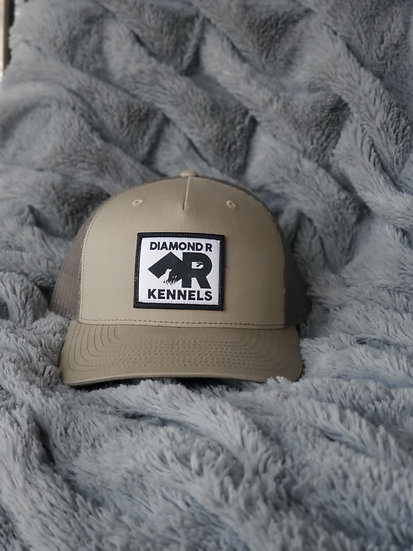 Logo Olive Green Trucker Hat