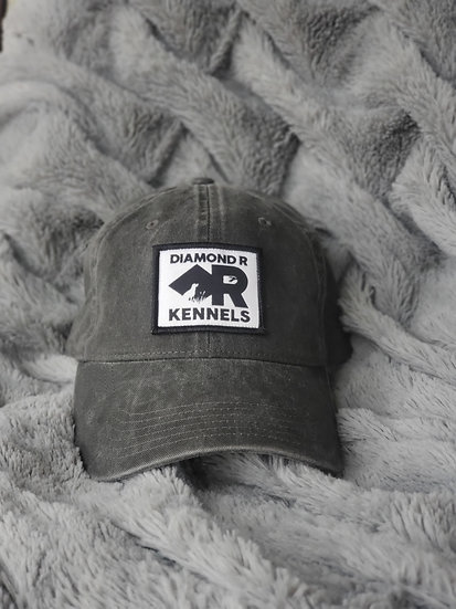 Charcoal Adjustable Dad Hat
