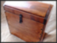 Hand made, treasure box with dovetail joints