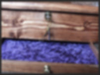 Hand made jewellery locking box, dovetail joints, single drawer