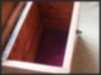 Hand made treasure box