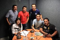 En programa de radio