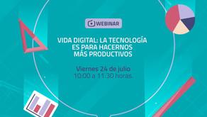 """Webinar """"Vida Digital"""" con la Red de Asociaciones y Fundaciones Empresariales"""