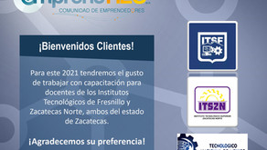 ¡Bienvenidos clientes 2021!