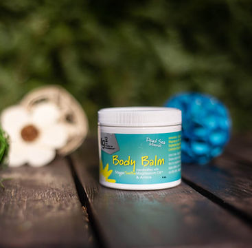 Mg12's topical Magnesium MagneSoothe Body Balm