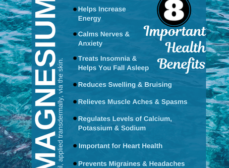 8 Important Health Benefits of Magnesium
