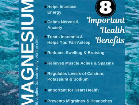 8 Important Health Benefits of Magnesium
