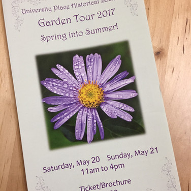 UP Historical Society Garden Tour