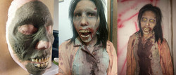 collage zombie