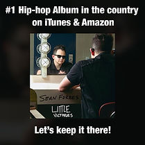WE DID IT. We have the #1 hip-hop record