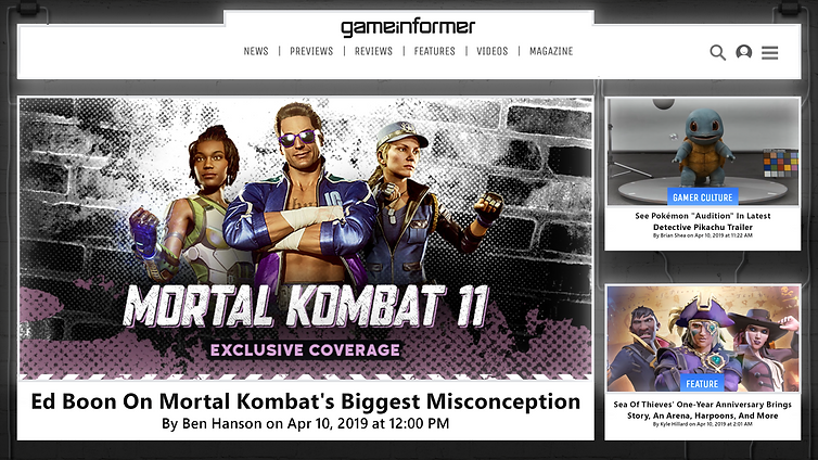 gameinformer app home screen.png