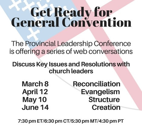Participate In PLC Preparing for General Convention Webinar Series