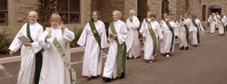 Deacons Talking on Road to Emmaus